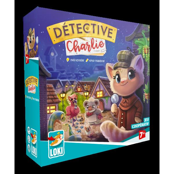 detective charlie boîte