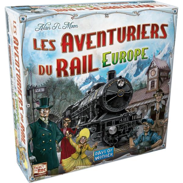 Les aventuriers du rail Europe boite