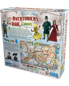 Les aventuriers du rail europe dos