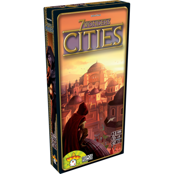 7 wonders : cities boîte
