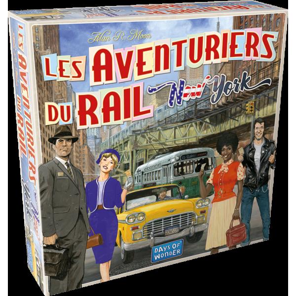 les aventuriers du rail new york boîte