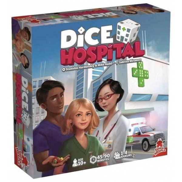 dice hospital boîte