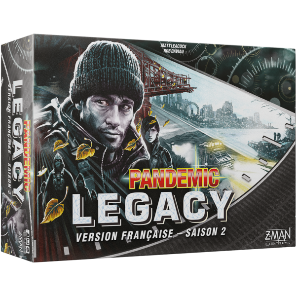 pandemic legacy saison 2 (noir) boîte