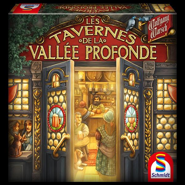 les tavernes de la vallée profonde boîte