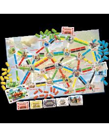 les aventuriers du rail europe : premier voyage plateau