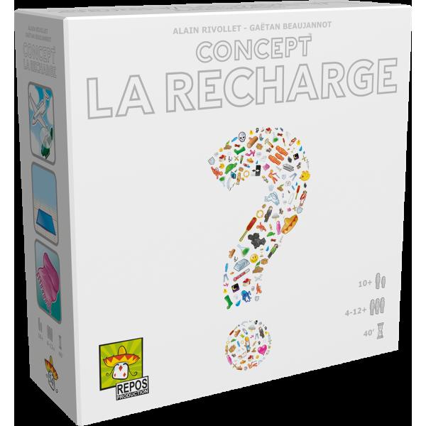 concept : la recharge boîte