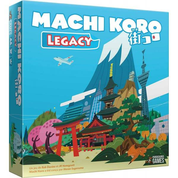 machi koro legacy boîte