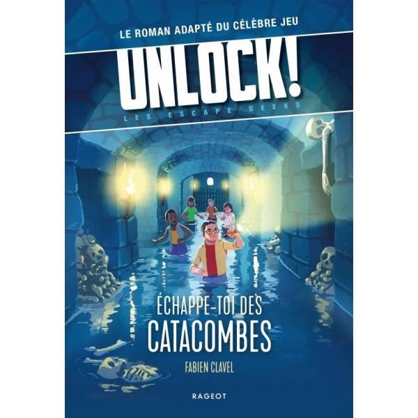 unlock ! escape geeks : échappe-toi des catacombes boîte