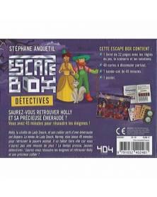 escape box : détectives plateau