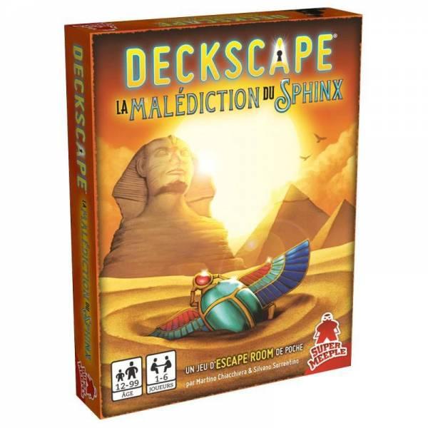 deckscape : la malédiction du sphinx boîte