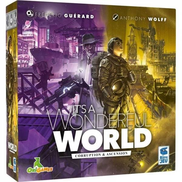 it's a wonderful world : corruption et ascension - extension boîte
