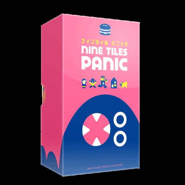 nine tiles panic boîte