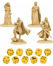le trône de fer - le jeu de figurines : baratheon exemple 1