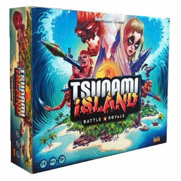 tsunami island : battle royale boîte