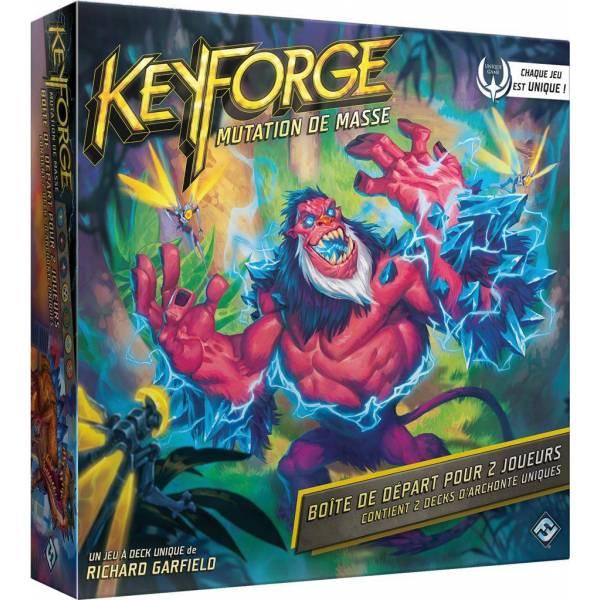 keyforge : mutation de masse - boîte de départ boîte