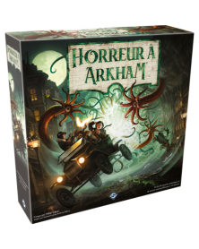 horreur à arkham 3ème edition - jeu de plateau boîte