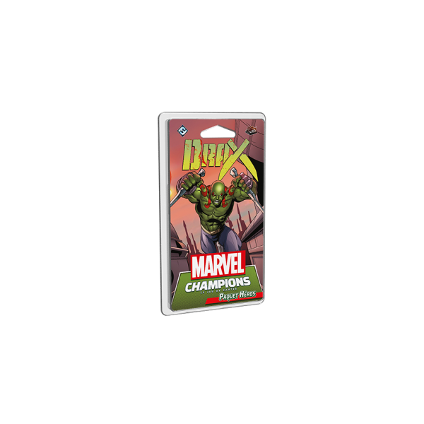 marvel champions : drax - extension boîte