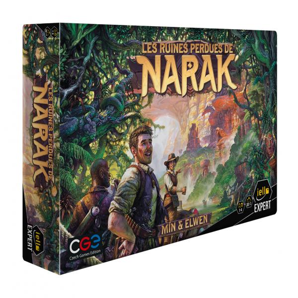 les ruines perdues de narak boîte