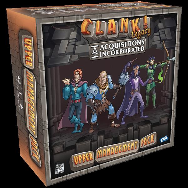 clank! : upper management pack - extension boîte