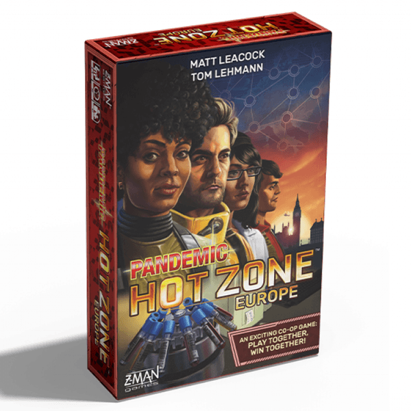 pandemic zone rouge : europe boîte