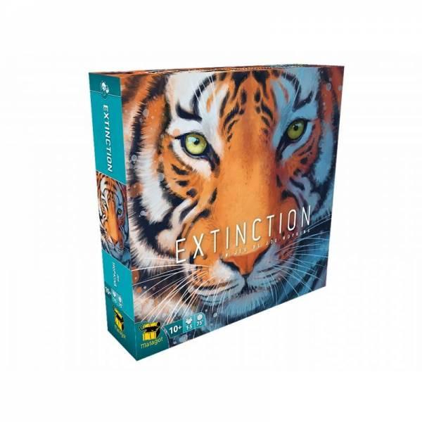 extinction - tigre boîte