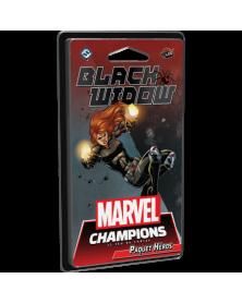 marvel champions : black widow - extension boîte