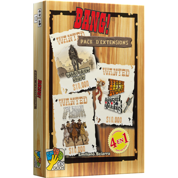 bang ! - pack d'extensions boîte