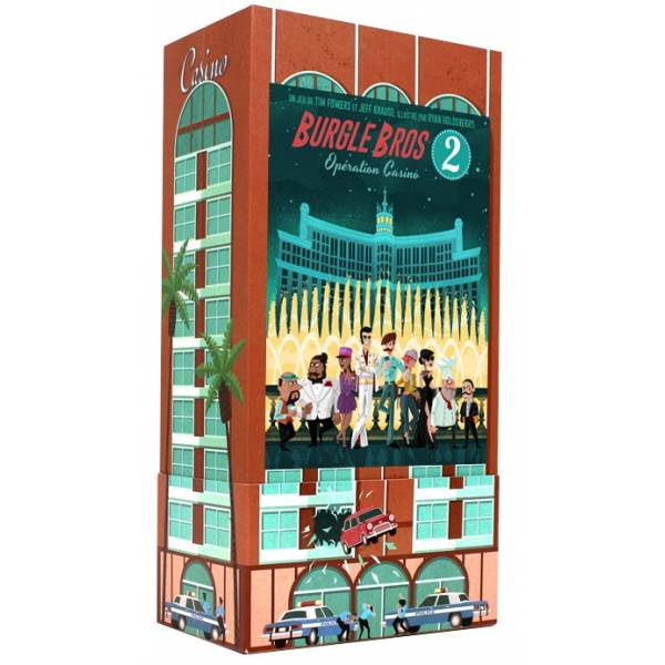 burgle bros 2 : opération casino boîte