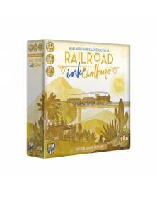 Railroad Ink Challenge Jaune Brûlant boîte