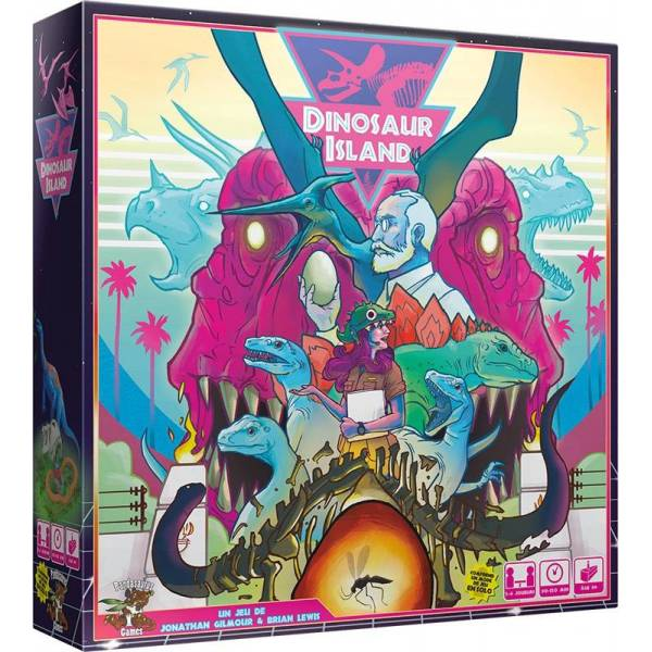 dinosaur island boîte