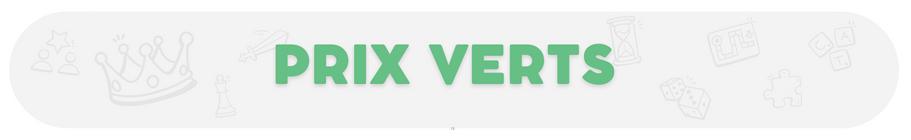 Prix Vert - Jeux de société - Ludum.fr